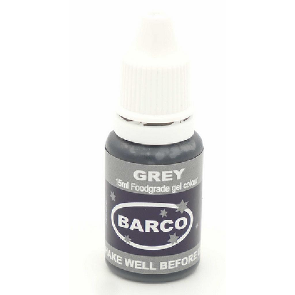 Barco Gel Colours 100ml Grey