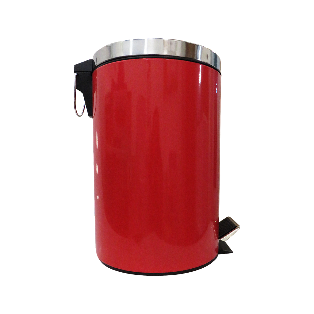 12L Dustbin Red