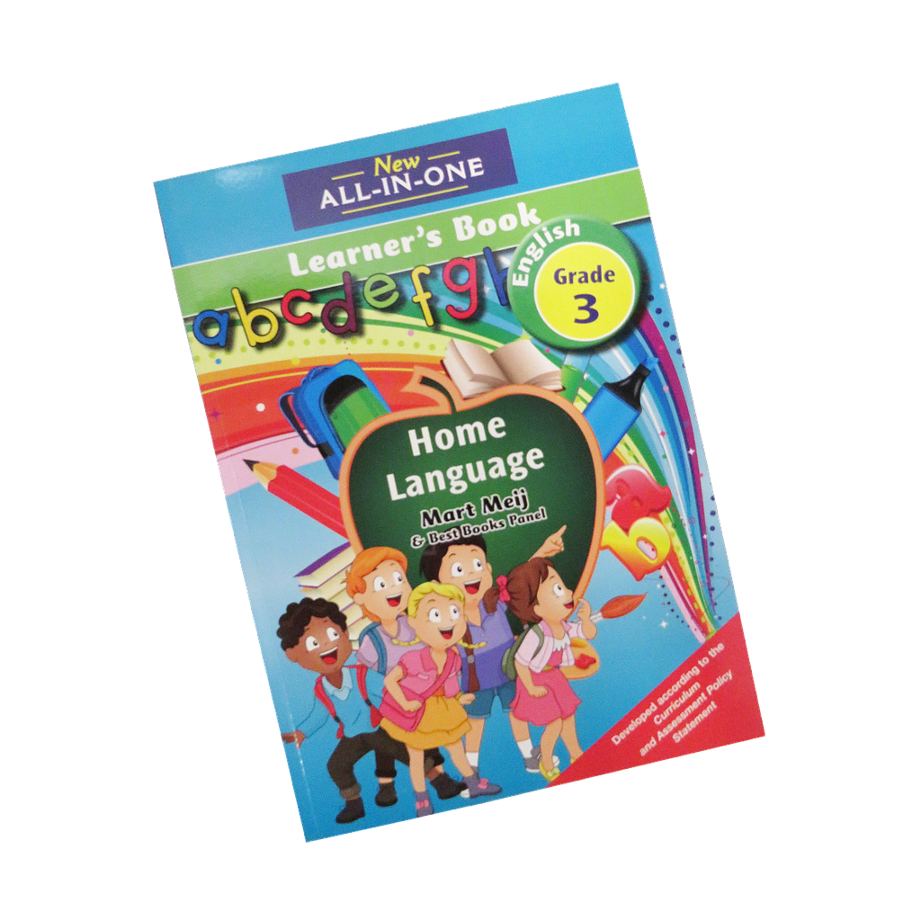 All-in-1 Grade 3 Home Language Workbook